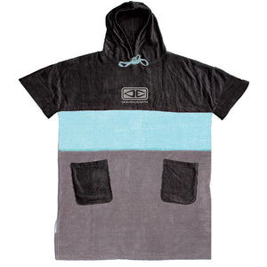 O & E Mens Strike Hooded Poncho - Ice Blue - SUPSHED NZ