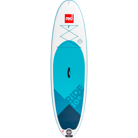 Red Paddle Co 10'8 Ride Deck Aqua