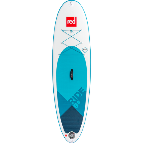 Red Paddle Co 9'8 Ride Deck Aqua
