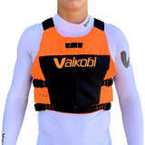 Vaikobi VPX Race PFD - Fluro Orange/Black Front - SUPSHEDNZ