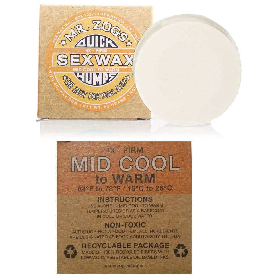 Sexwax Quick Humps Wax mid cool SUPSHEDNZ