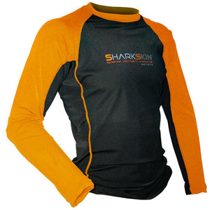 Sharkskin Rapid Dry Long Sleeve - black orange SUPSHED NZ