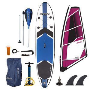 SUP Package Deal STX Inflatable 10'6 SUP + Windsurf Complete - SUPSHED NZ