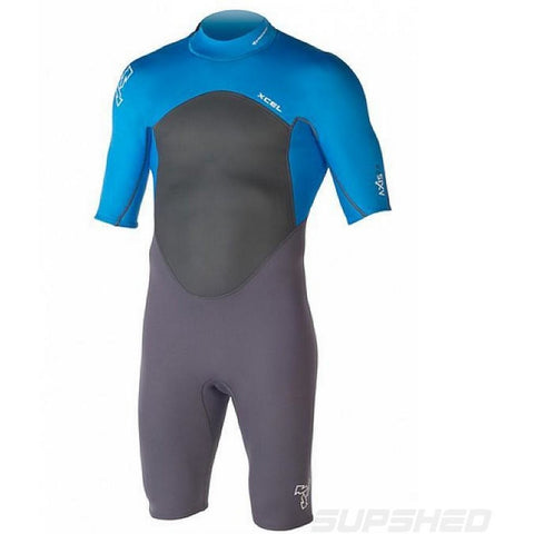 XCEL Axis 2mm O/S Springsuit - Blue