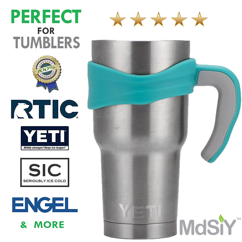 Tumbler Handle and Lid for Yeti Rambler 30 oz Tumblers, Rtic, Ozark Trail and more