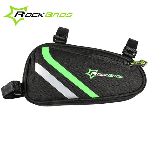 Outdoor Triangle Cycling Bike Tube Bag - Bike Accessories Bicycle Repair Tool Bag - Bicycle Front Frame Bag