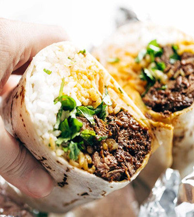 SAVI Recipe - a burrito can be a life saver