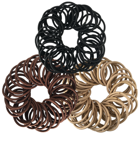 40-Pack Ouch Less Hair Ties