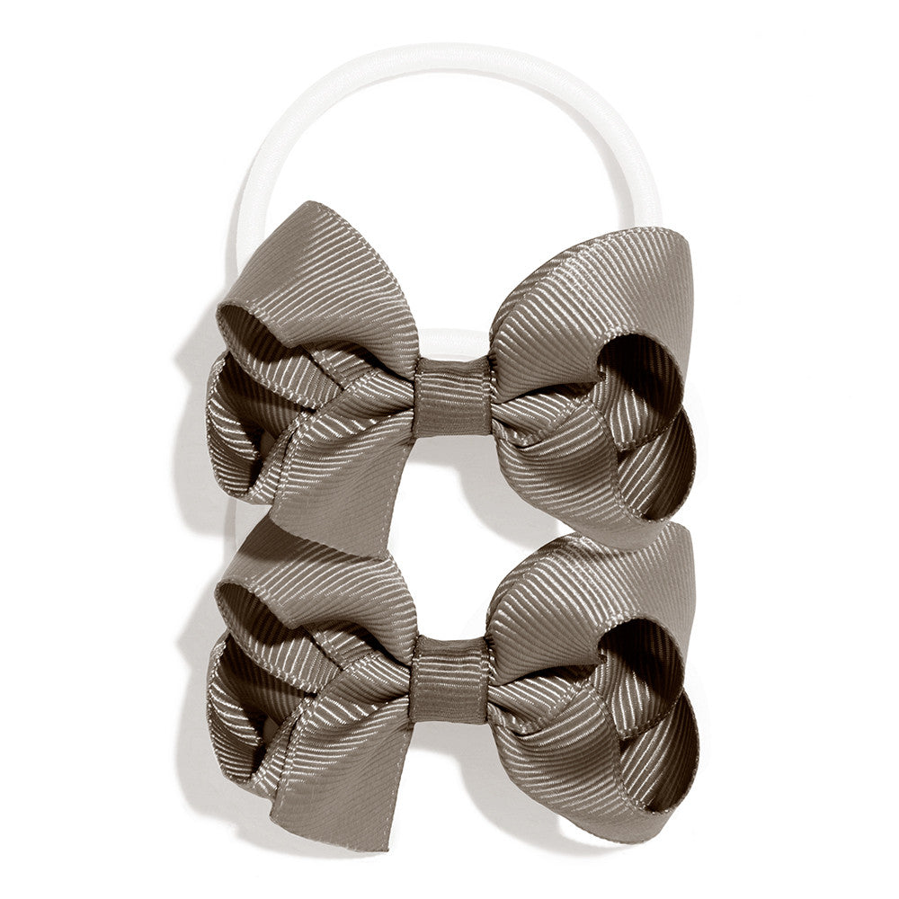 School Elastic with Bow (pair)