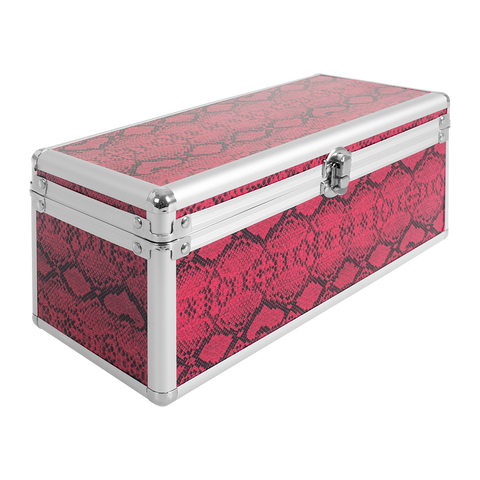 Red Snakeskin Art Essentials Case