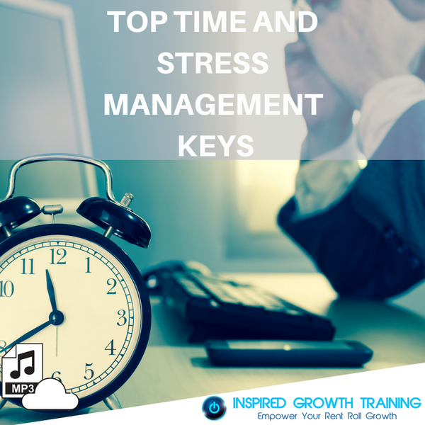 Top Time and Stress Management Keys - MP3