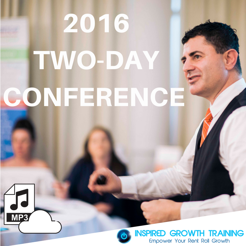 2016 Two-Day Conference (Electronic Download)