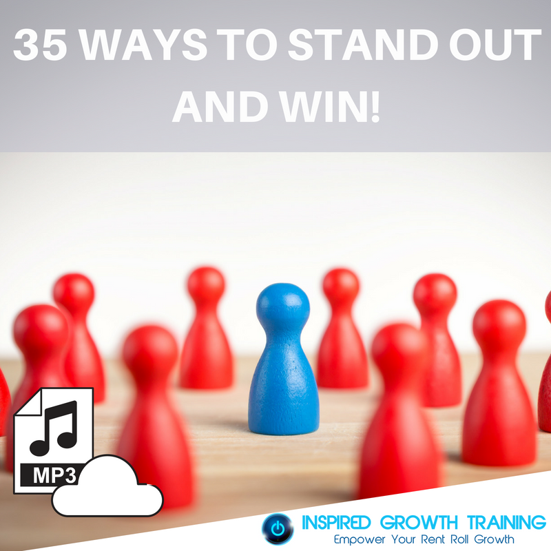 35 Ways to Stand Out and Win - MP3