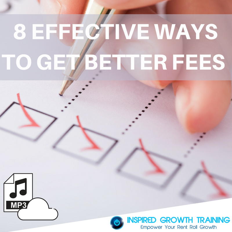 8 Effective Ways to Get Better Fees