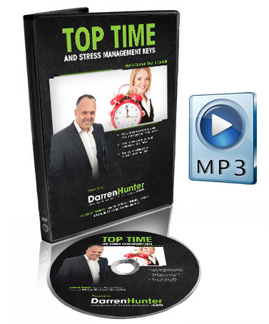 Top Time and Stress Management Keys - CD