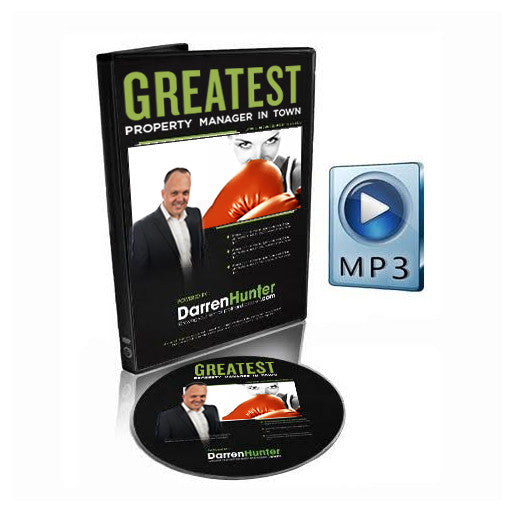The Greatest Property Manager in Town- Your Ticket to Be the Best - CD