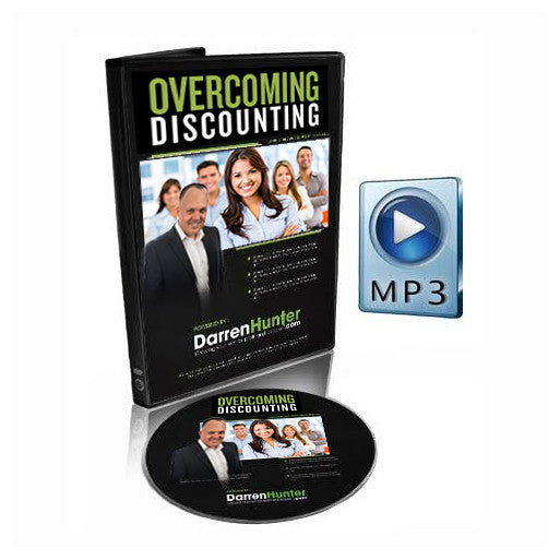 Overcoming Discounting - Effective Scripts to Win Your Fees - CD