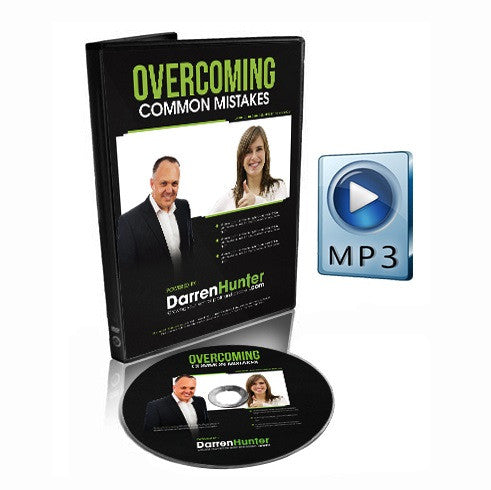 Overcoming Common Mistakes - How to Use Them for Success - CD