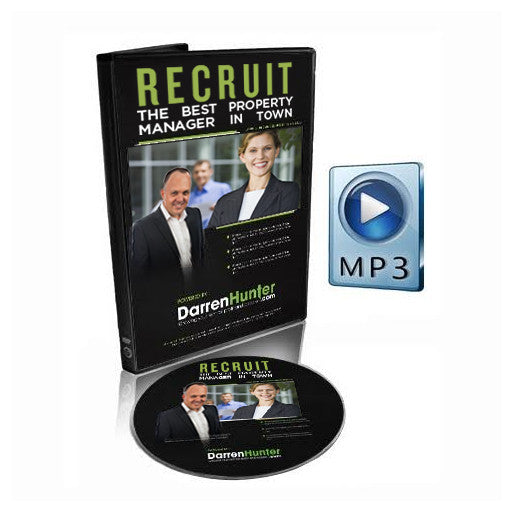 Recruit the Best Property Manager in Town - CD