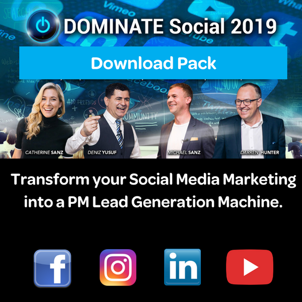 DOMINATE Social - Download Pack (Live Video Recordings)