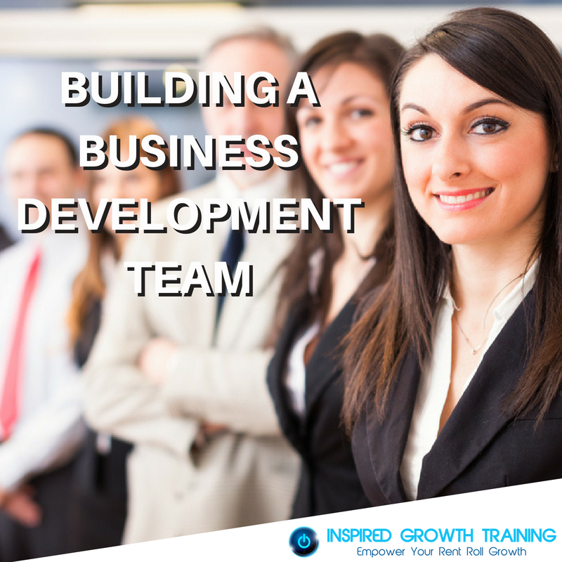 Building a Business Development Team