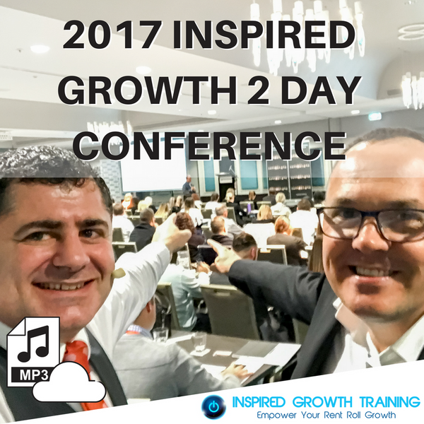 2017 Inspired Growth 2 Day Conference (Electronic Download with Presentation slides)
