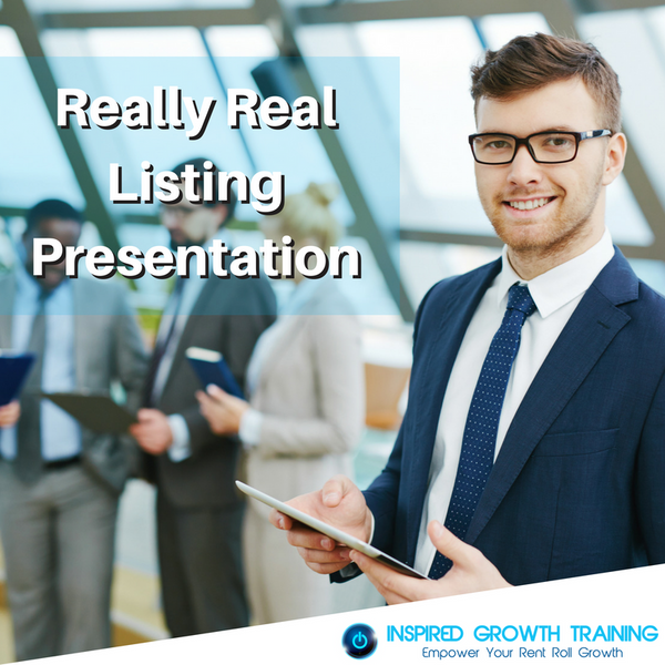 Really Real Listing Presentation