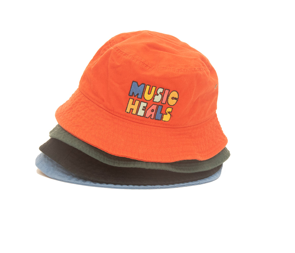 Music Heals Bucket Hat (Multiple colors available)
