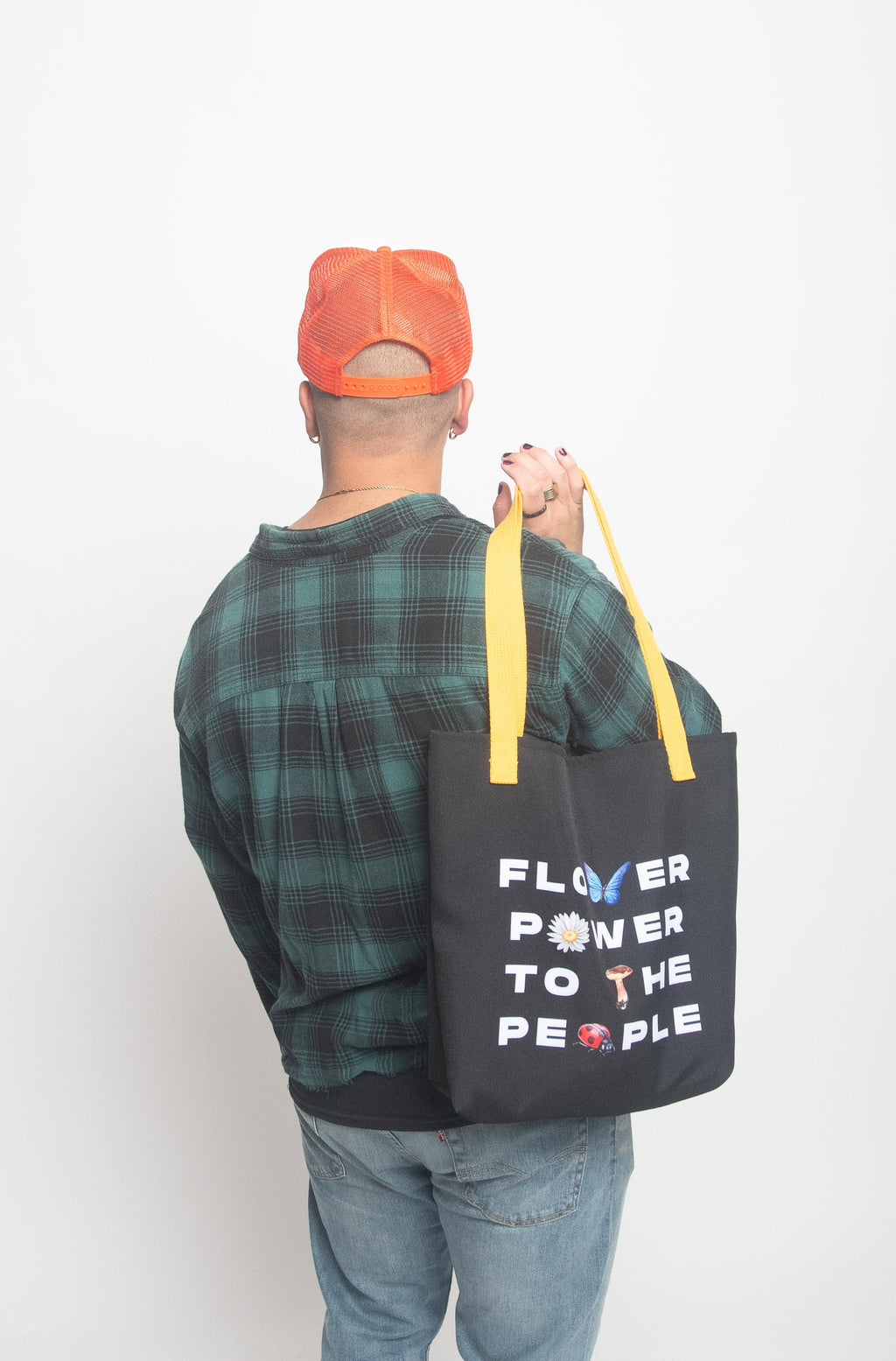 Flower Power to the People Tote Bag