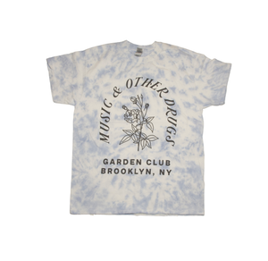 MaOD Garden Club Light Blue Tie Die T-Shirt (Limited Edition)