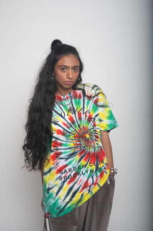 Garden Club Multi Color Tie Dye T-shirt (Limited Edition)