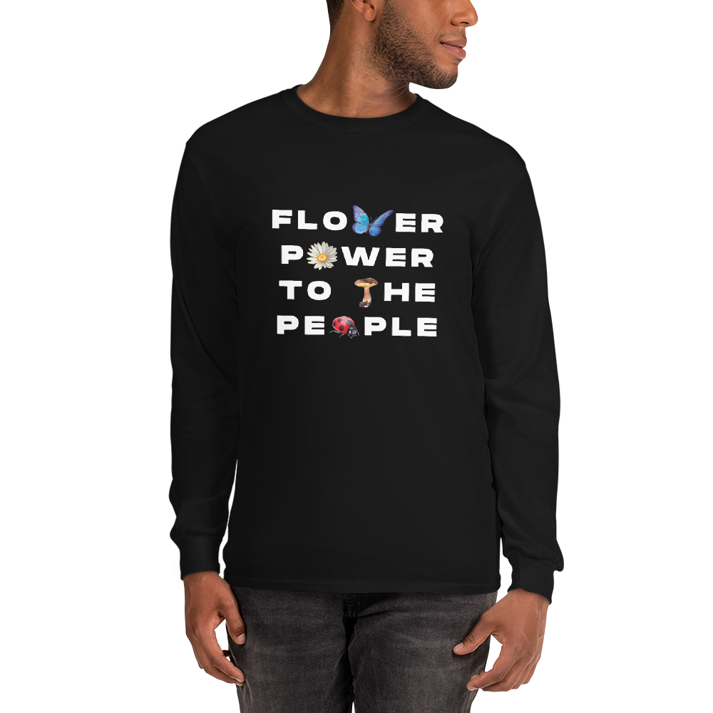 Flower Power to the People Long Sleeve Shirt