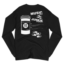 Load image into Gallery viewer, Music Junkie Champion Long Sleeve Shirt (Black)