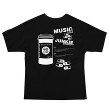 Load image into Gallery viewer, Music Junkie Champion T-Shirt (Black)