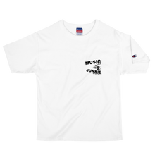 Load image into Gallery viewer, Music Junkie Champion T-Shirt (White)