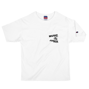 Music Junkie Champion T-Shirt (White)
