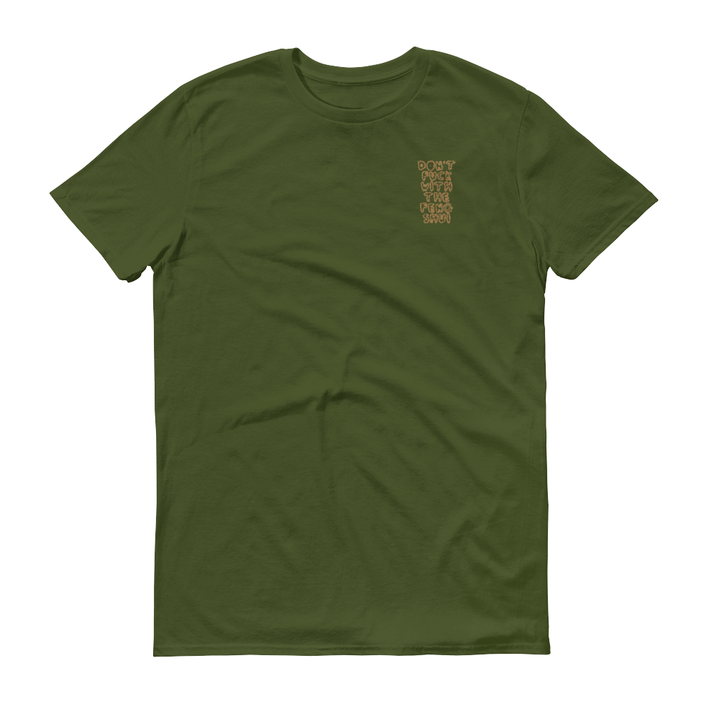 DFWTFS Embroidered Green Tee