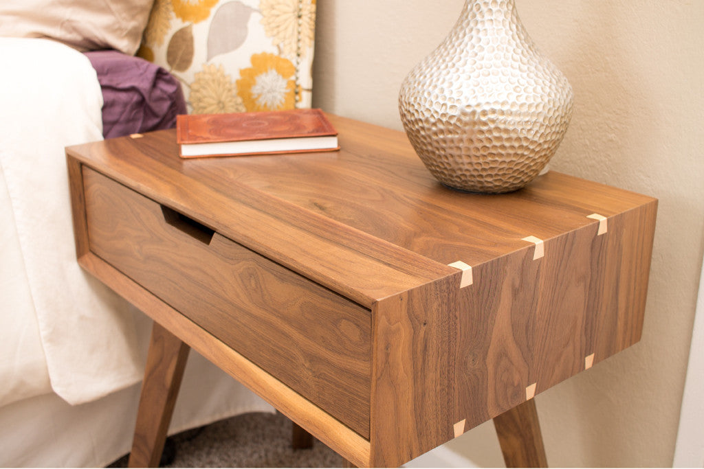 Furniture Legs San Diego solid wood walnut coffee table - open door furniture