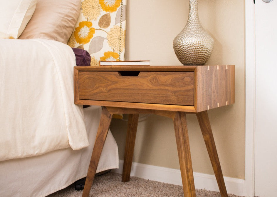 Furniture Legs San Diego danish contemporary end table-custom furniture handmade in san