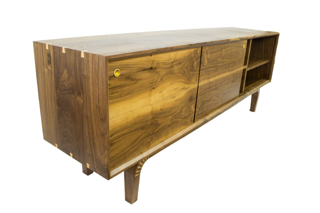 Furniture Legs San Diego solid walnut wood dining table-custom furniture from san diego