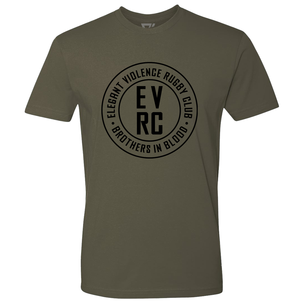 EVRC Brothers In Blood Premium Tee (Military Green)