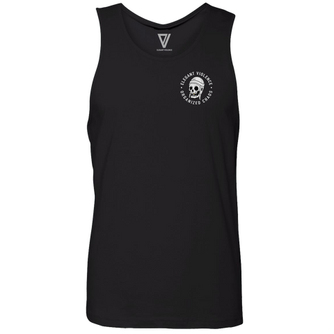 Scrum Skull Icon Premium Tank (Black)