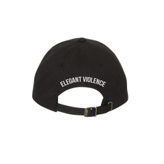 EV Icon Embroidered Dad Cap (Black)