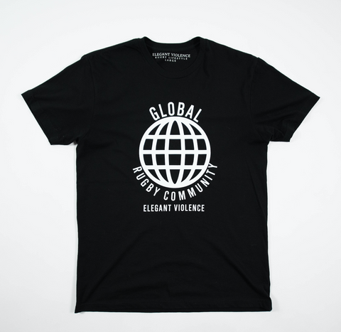 Global Rugby Community Tee - Elegant Violence Rugby Lifestyle
