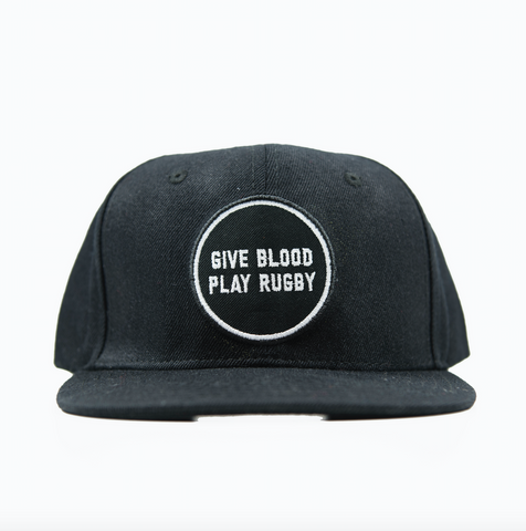 Give Blood Play Rugby Snapback