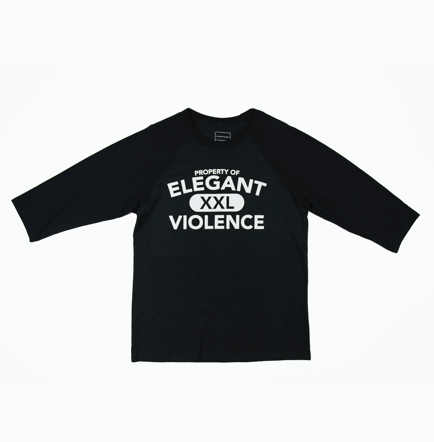 3/4 Property Tee - Elegant Violence Rugby Lifestyle