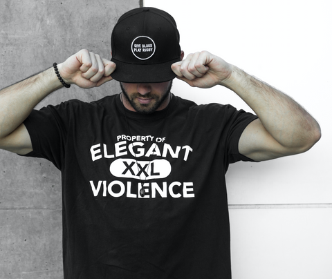 Property Short Sleeve Tee - Elegant Violence Rugby Lifestyle