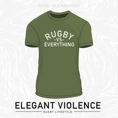 Rugby Vs Everything Tee - Elegant Violence Rugby Lifestyle