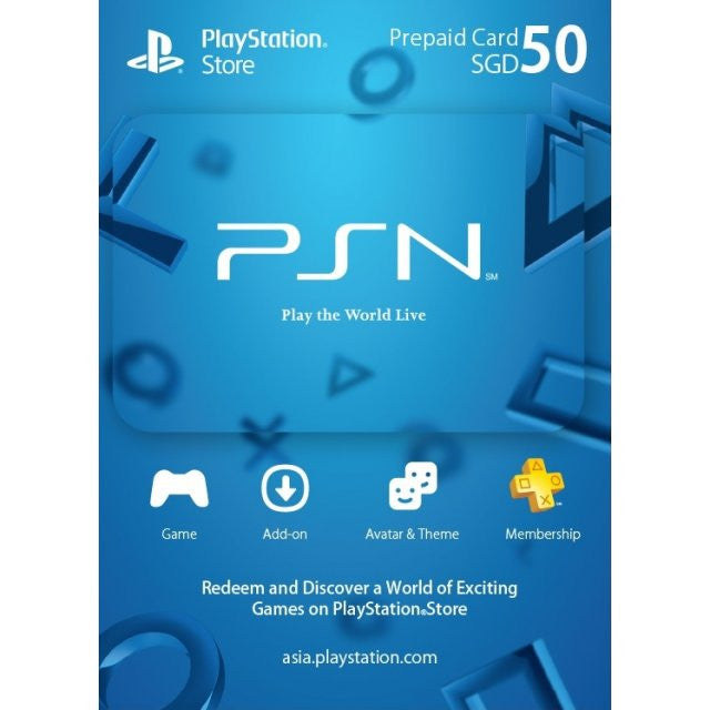 50 SGD PSN Credits [Email Delivery]