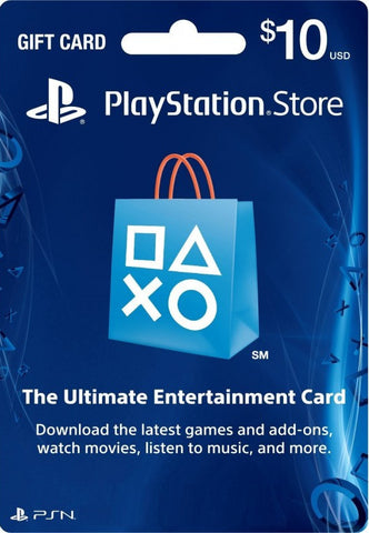 $10 US PSN Credits [Email Delivery]